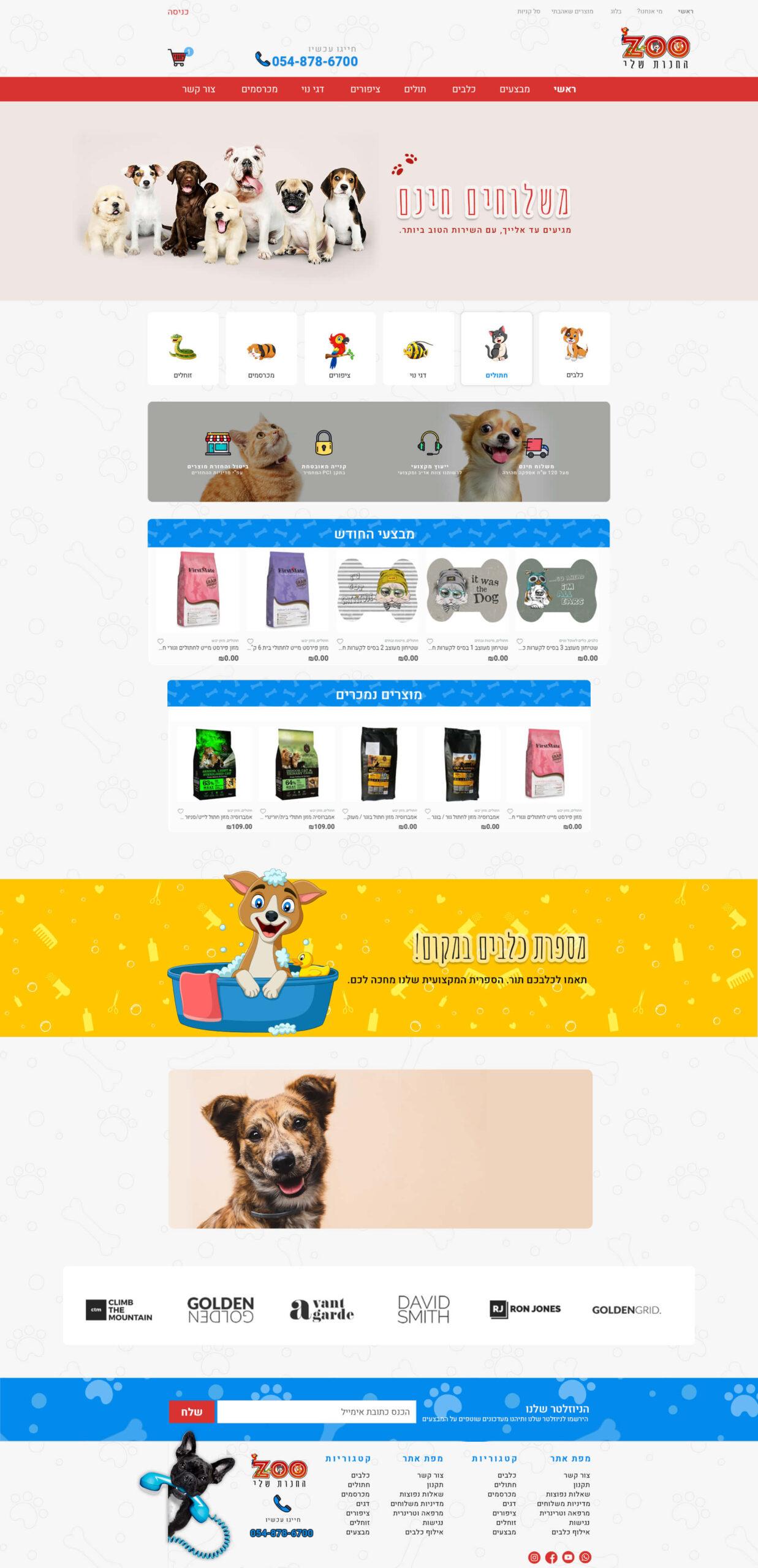 עיצוב חנות אינטרנטית